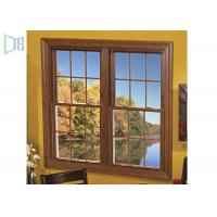 Quality Low E Aluminium Vertical Sliding Windows Energy Saving Tempered Glazed wholesale