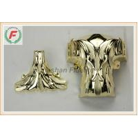 Buy cheap Gold Silver Copper PP Or ABS Plastic Casket Corner 1# Leaf Funeral Decoration from Wholesalers
