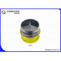 Buy cheap LED Solar Low intensity Red Aviation Obstruction Light 10cd low intensity IP68 ICAO FAA L-810 from wholesalers