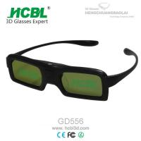 Buy cheap DLP Link Universal Active Shutter 3D Glasses With Rechargable Battery / Logo Print from Wholesalers