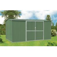 Buy cheap 10x10 Galvanised Steel Metal Garden Shed For Tools Storage With Double Swing Door from Wholesalers
