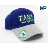 Quality Plain Embroidery Cotton Customize Baseball Hats 6 Panel With Mesh Back wholesale