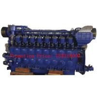 Buy cheap Big Power 1000r / min 2938 KVA Marine Diesel Engine For Transportation Ships / Fishing Boats from Wholesalers