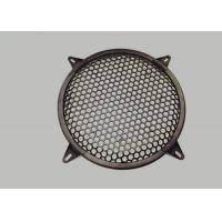 Buy cheap Round Type Waffle Speaker Grill Mesh , Metal Grill Mesh Size Customized from wholesalers