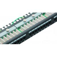 Buy cheap Cat6 STP RJ45 Network Patch Panel Tray Type Patch Panel UL Certification Performance from wholesalers