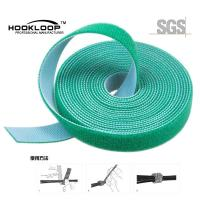 Adhesive Backed Hook And Loop Tape Fasteners Magic Tape 70% Nylon And 30% Polyester