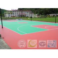 Buy cheap Odourless Outdoor & Indoor Basketball Sport Court Surface Easy Installation from Wholesalers