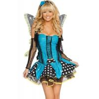 Buy cheap Blue Garden Butterfly  Halloween Adult Costumes Customized For Carnival Dance from Wholesalers