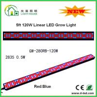 Buy cheap IP44 High Brightness Linear Grow Lights For Indoor Plants , PPMA Cover from Wholesalers