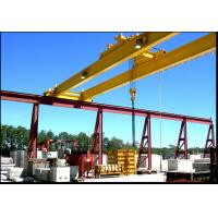 Buy cheap 35 ton Double Girder Overhead Crane With Electric Hoist, Single Speed, Double Speed For Stock Ground / Mining from Wholesalers