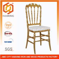 Buy cheap Stacking Plastic Resin Wedding Chairs Recyclable Static Load 500kgs from wholesalers