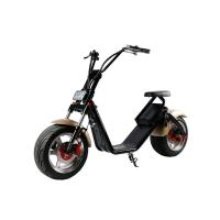 Buy cheap 1200 W Removable Battery Two Wheeled Electric Scooters Motorized 50km / H Max Speed from Wholesalers