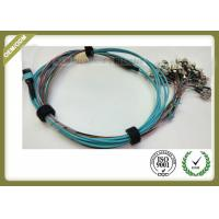 Buy cheap High Density Fiber Optic Patch Cord , Optical Fiber Jumper For Medical Sensing System from wholesalers
