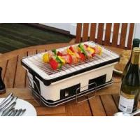 Buy cheap ST25 BBQ home use Barbecue Set Japanese charcoal ceramic BBQ grill from wholesalers