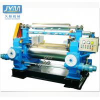 China Chilled Alloy Cast Iron Two Roll Mixing Mill Machine For Rubber Mixing With Cooling Water on sale