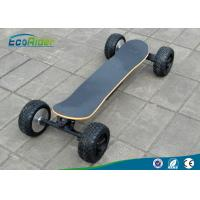 Quality High Speef Off Road Electric Skateboard With Two Brushless Motor , 2000 Watt 48V wholesale