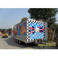 Buy cheap Fashionable Mobile Kitchen Trailer Hire Catering Van With Custom Poster Board from Wholesalers