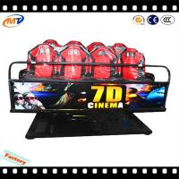 Buy cheap game machine racing car 7d cinema 9d cinema with motion ride video games from Wholesalers