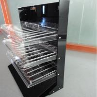 Buy cheap 3 Tiers Acrylic Rack for Lipgloss Compartment Plexiglass Lipstick Display Stand from wholesalers
