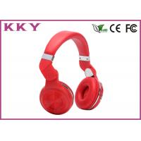 China Colorful On Ear Headband Bluetooth Headphones With Microphone Noise Cancelling on sale