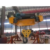 Buy cheap Wire Rope Electric Trolley Hoist from Wholesalers