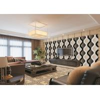 Buy cheap Curve Living Room Bedroom PVC Modern Removable Wallpaper For TV Background from Wholesalers