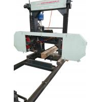 Buy cheap MJ1000/MJ1600 Portable Horizontal Band Sawmill for teak wood board cutting used from wholesalers
