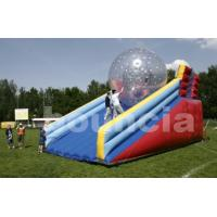Buy cheap PVC Zorb Ball Racing Track , Zorb Ramp Used On Grassland Or Snow Field from Wholesalers