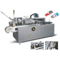 China Siemens Controlling System Automatic Cartoning Machine For Packing Bottles on sale