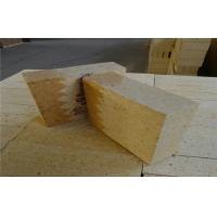 Fire Resistant Dry Pressed High Alumina Insulation Refractory Bricks , High Density