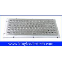 Buy cheap Stainless steel liquid-proof industrial mini kiosk keyboard with 86 keys MKB-F86A from Wholesalers