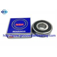 China Gearbox Automobile Single Row Deep Groove Ball Bearings 6204 For Machinery Industry on sale