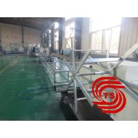 Buy cheap HDPE Double Wall Corrugated Pipe Machine , Single / Double Extruder from Wholesalers