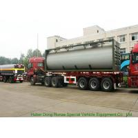 China UN1789  Hydrochloric Acid ISO Tank Container , Chemical ISO Liquid Container 30FT on sale
