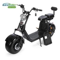 Buy cheap Two Wheel China Disc Brake Electric Bike for Adults Factory Citycoco with Front and Rear Suspension Shock from Wholesalers