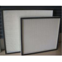Easy Installation High Capacity Hepa Filter Thin Thickness Minimum 25mm For Clean Room
