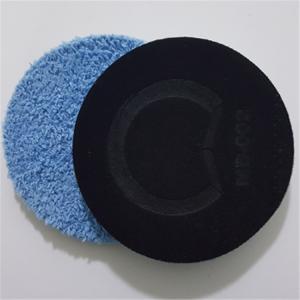 Buy cheap Car Care Wax Applicator Folding Microfiber Polishing Foam Pad from wholesalers