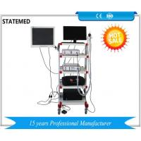 Buy cheap Medical Endoscopy Camera System With Led Light Source / Endoscopy Trolley from wholesalers