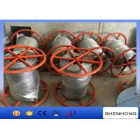 China 300KN Breaking Load Anti Twist Wire Rope , Hot Dip Galvanised Steel Wire Rope on sale
