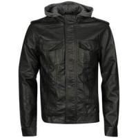 China size 60 XXXL designer classic mens bomber black / gray jackets with hood on sale