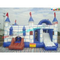 China 120 x 80 x 80CM  Inflatable Bouncer Slide PVC Tarpualin , Water - Proof Kids Bounce House on sale