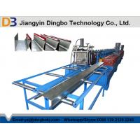 Buy cheap Professional Full Automatic Aluminium Rainwater Gutter Roll Forming Machine from wholesalers