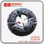 Buy cheap ISUZU CYZ51K 10PE1 CLUTCH PLATE COVER 1312203212 1-31220321-2 from Wholesalers