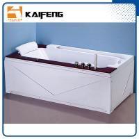 Buy cheap Luxury Single Jacuzzi Tub Air Jet Bathtub With Oak Wood Bead Computer Controller from Wholesalers