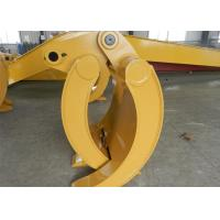 Wearable Steel Mechanical Excavator Grapple Bucket with Rod