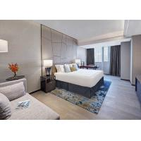 Buy cheap Modern Hotel Apartment Wihte Bedroom Furniture Sets Custom Size from Wholesalers