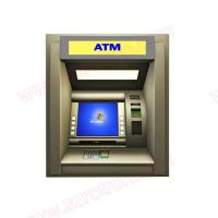 Buy cheap High quality wall through Bank ATM machine with banknote validator and bank card reader from Wholesalers
