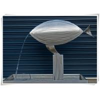 Buy cheap Contemporary Fish Waterfall Metal Water Feature For Interior Or Garden Decoration from wholesalers