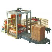 Buy cheap Low Position Automatic Palletizer Machine , Auto Carton Palletizer Whole Stack Output  from Wholesalers