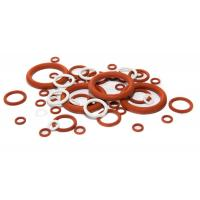 China High Temperature Silicone O Rings Acid And Alkali Resistant , Lead Free Standard on sale